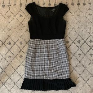 Flirty LBD with Pleat Detail